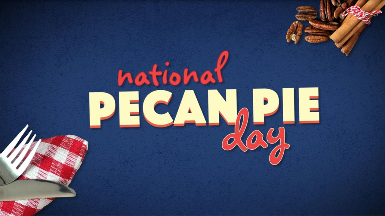 Celebrate Pecan Pie Day with a slice that will drive you nuts!