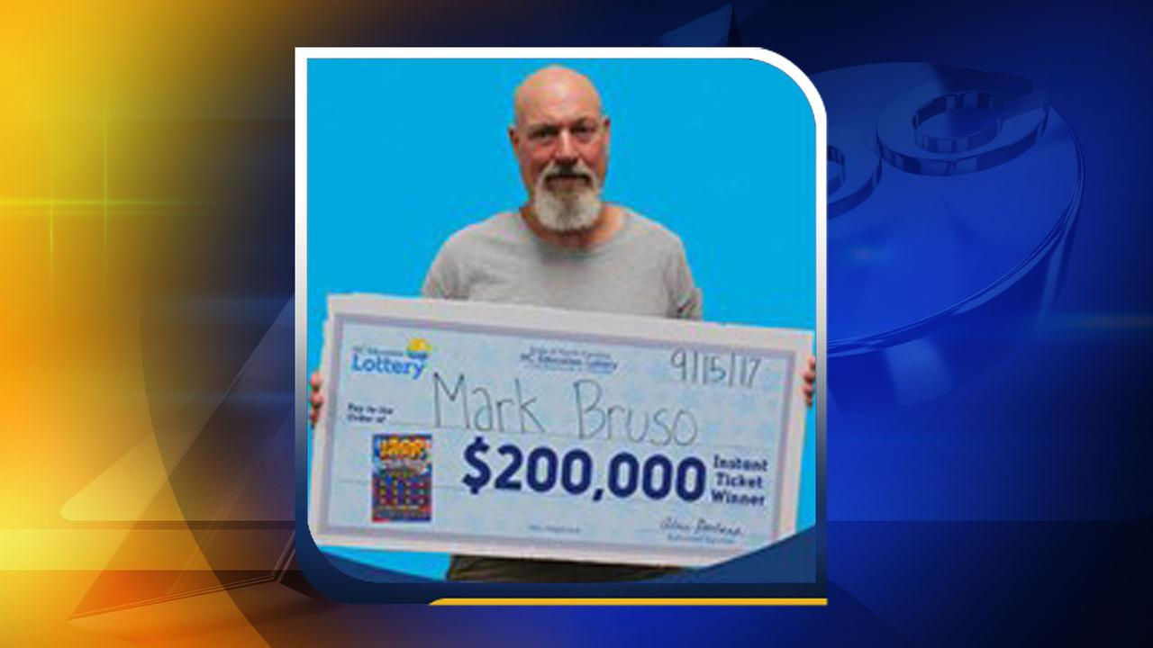 Veteran wins $200,000 from scratch-off lottery ticket in North Carolina