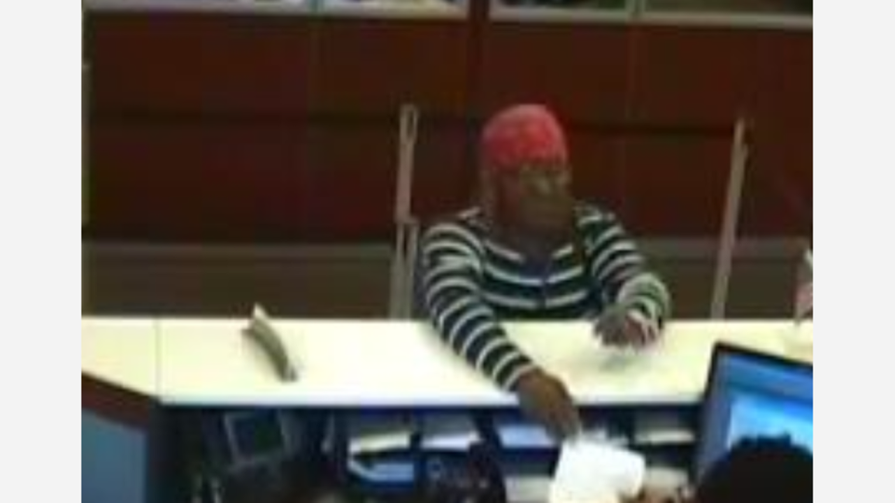 Fayetteville police search woman accused of robbing Wells Fargo