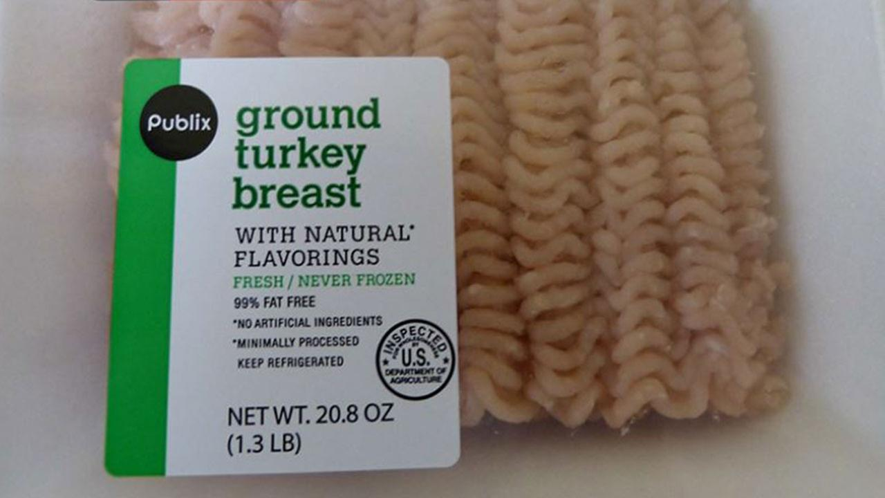 Publix ground turkey