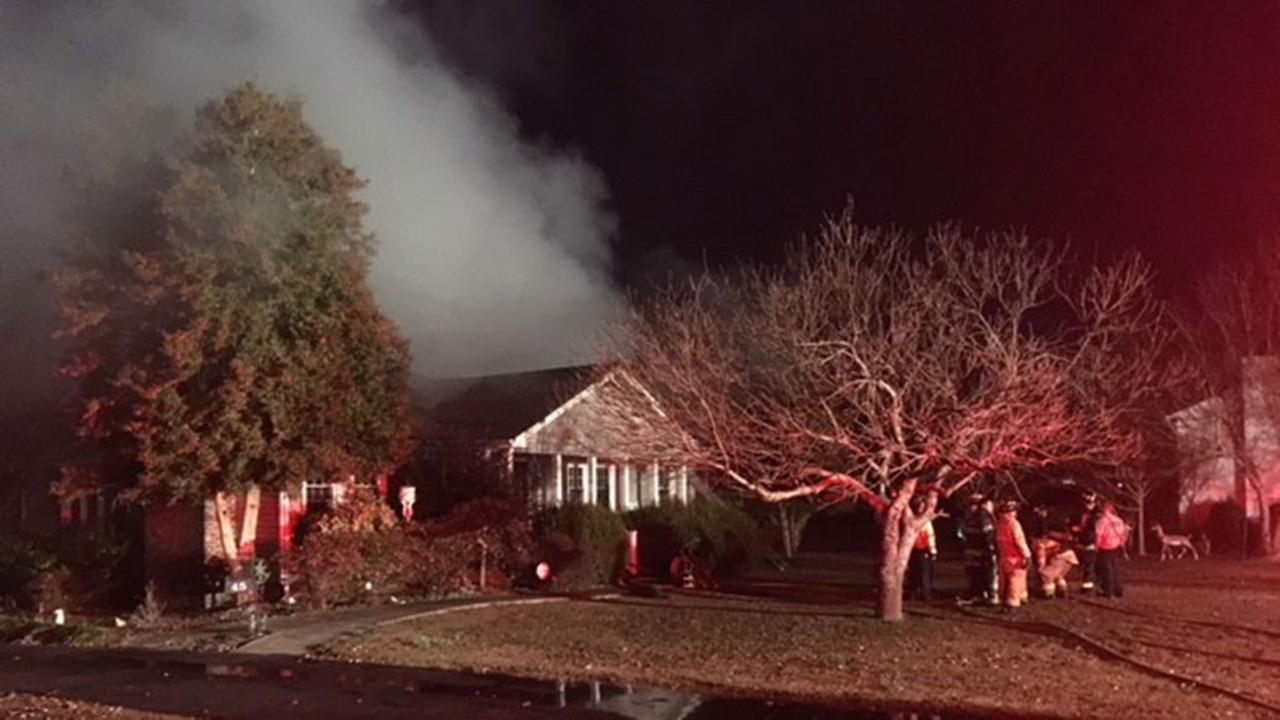 Fire guts Johnston County home, forces family out