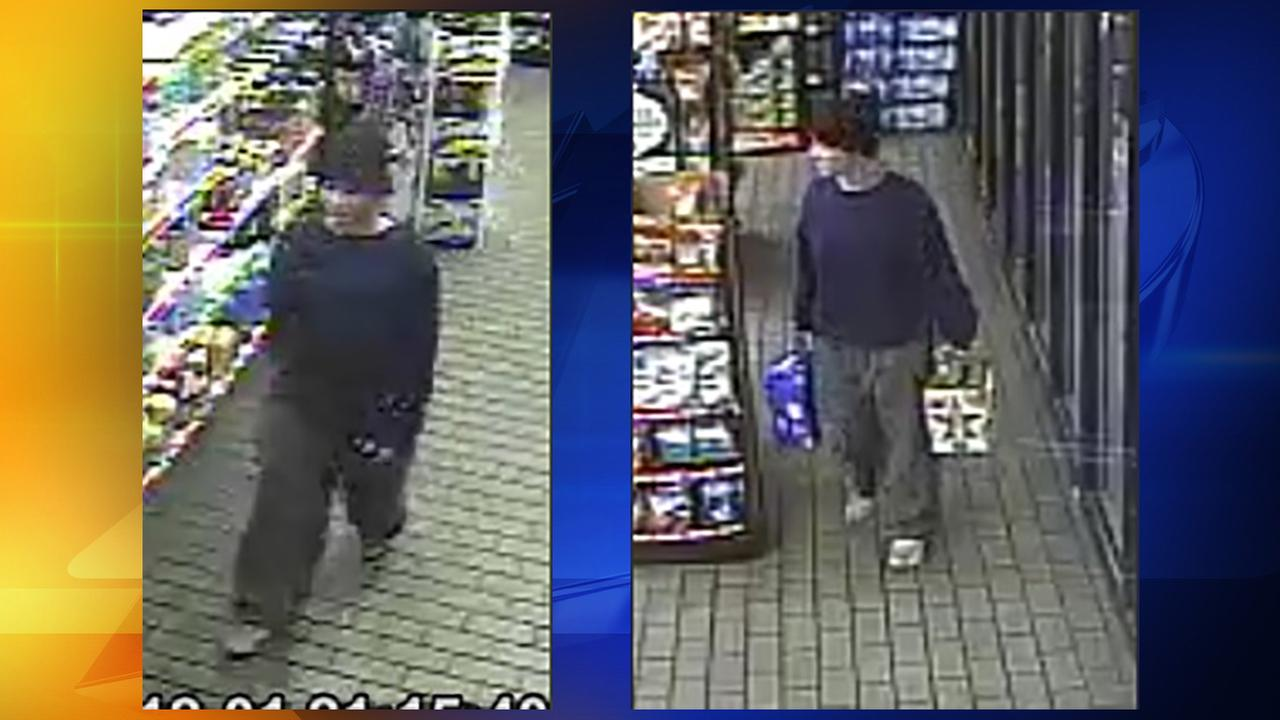 The Cumberland County Sheriffs Office is looking for a suspected habitual beer thief.