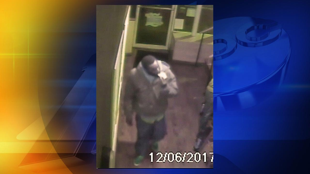 UNC Police release a photo of a person wanted in connection with Dec. 5ths robbery, assault of a student near the Old Well.