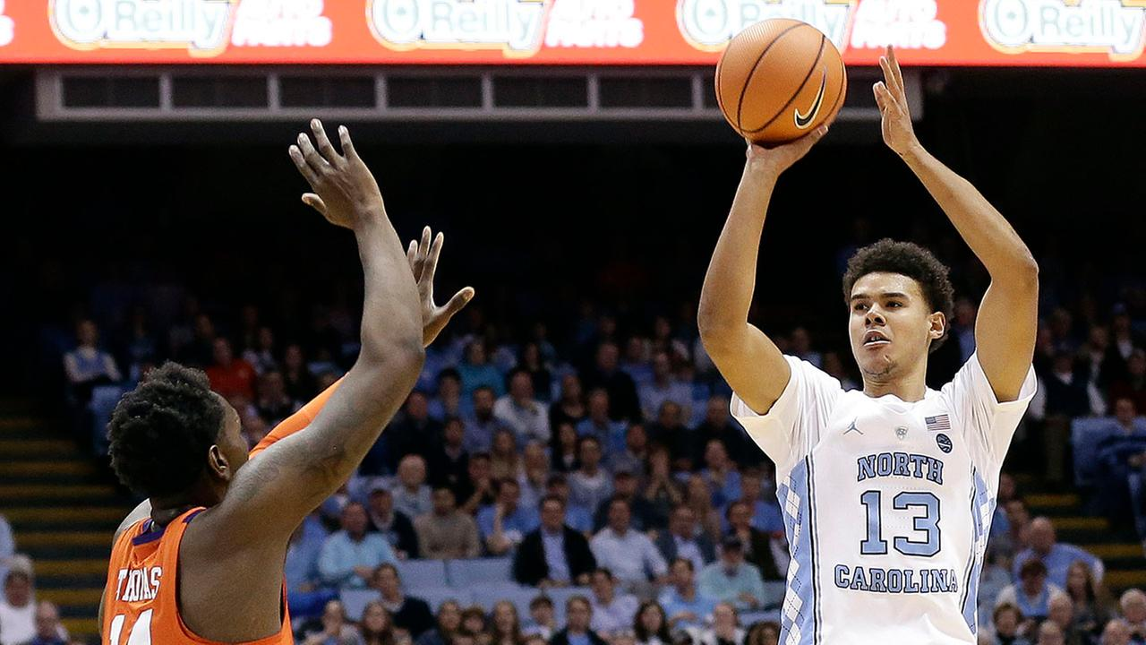 Cameron Johnson had 21 points Tuesday to help the Tar Heels beat Clemson for the 59 time in 59 tries in Chapel Hill.