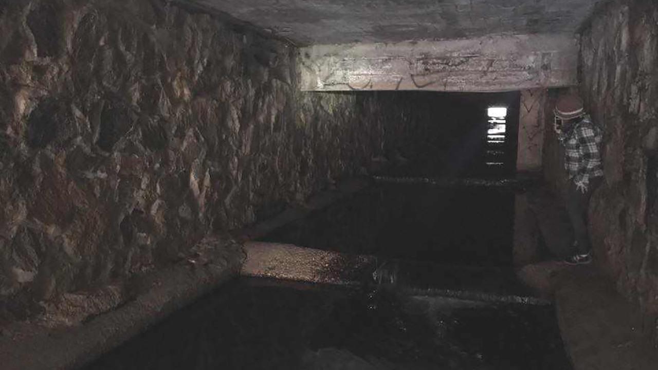 Exploring Raleighs hidden underground aqueduct.