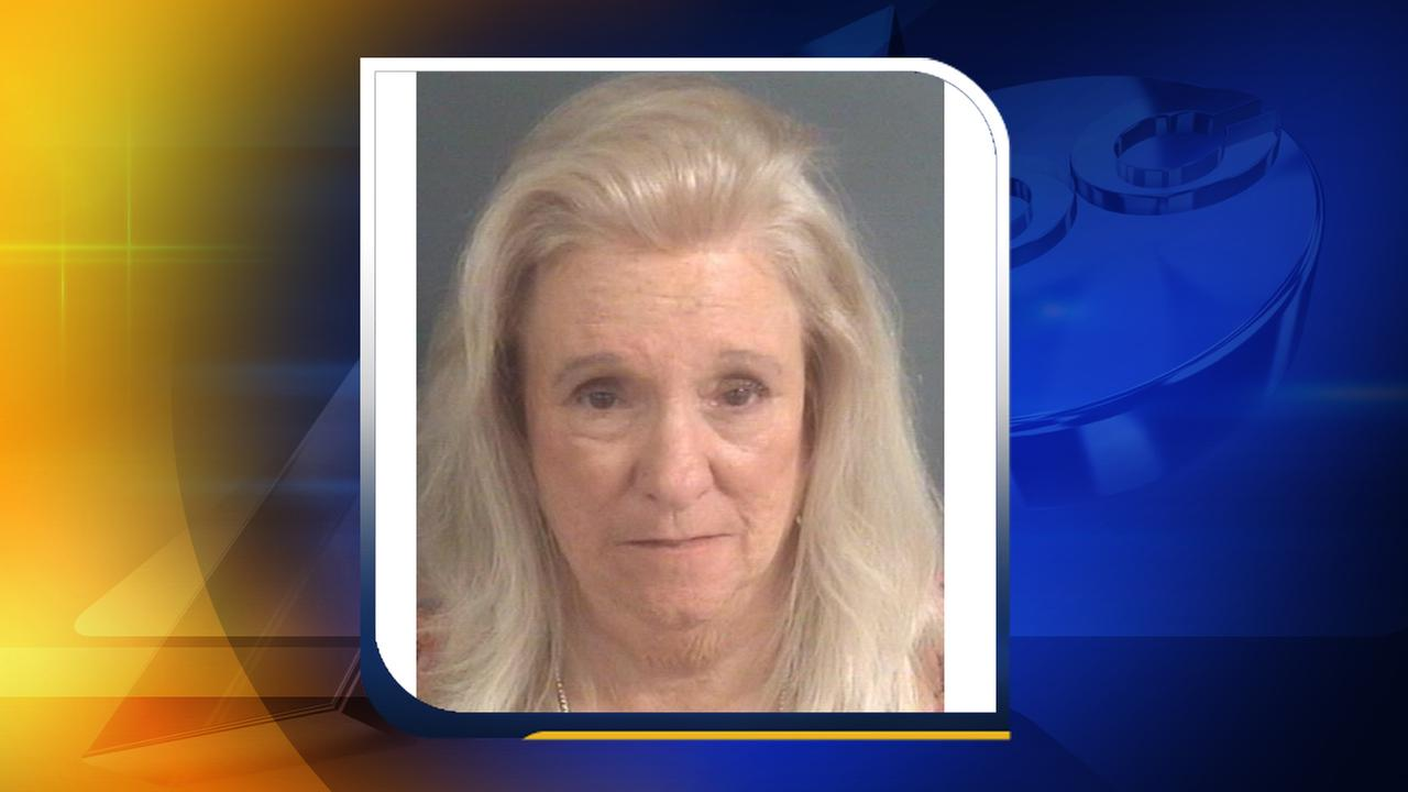 Barbara Flowers, 72, has been charged in the theft of gift cards from the Cape Fear Valley Cancer Center.