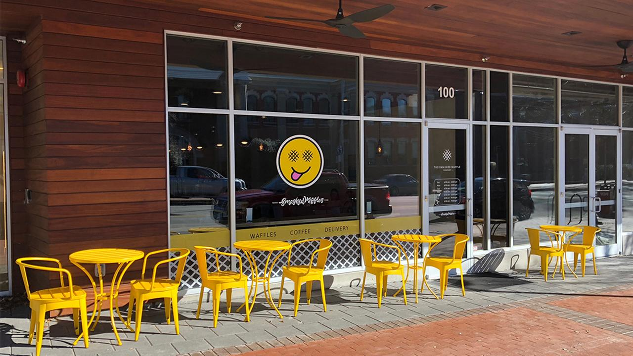 Smashed Waffles opens second North Carolina store in Raleigh
