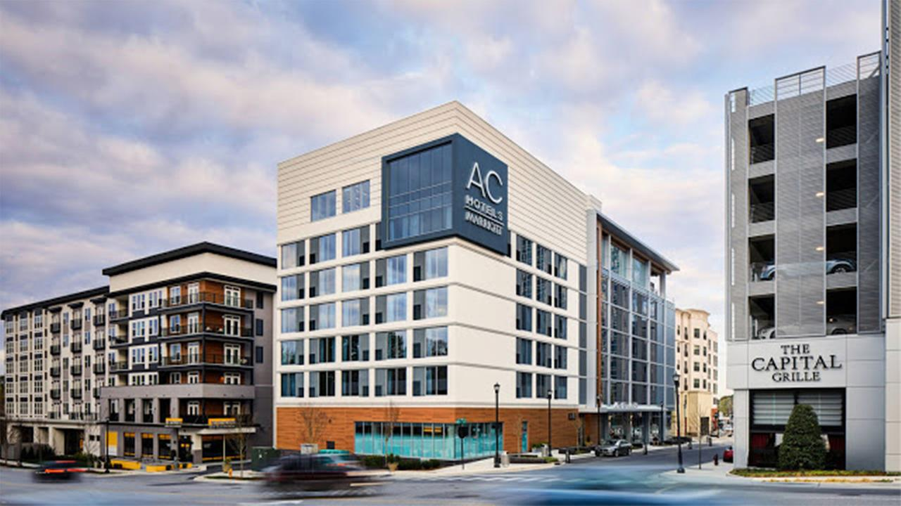 AC Hotel by Marriott in the North Hills area in Raleigh