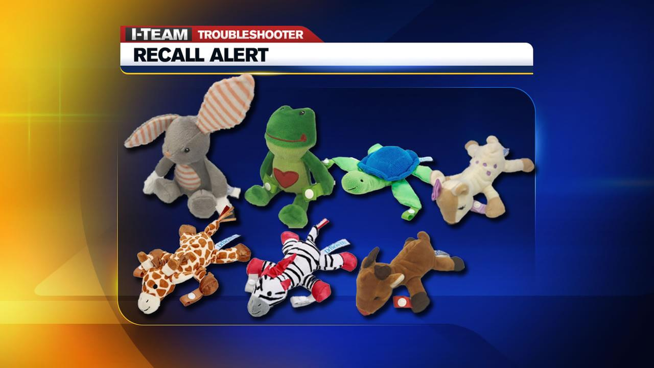Nearly 600,000 pacifier and teether holders recalled due to choking concerns