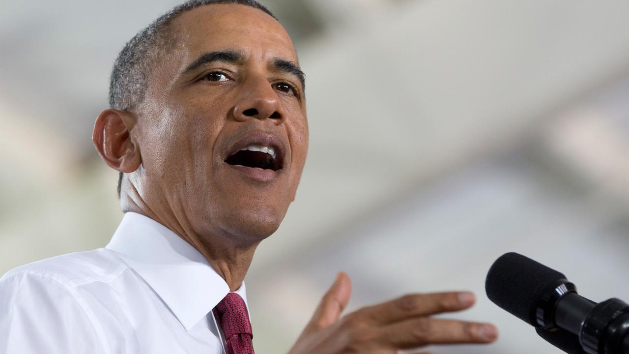 President Barack Obama speaks Jan. 15, 2014, at North Carolina State University.