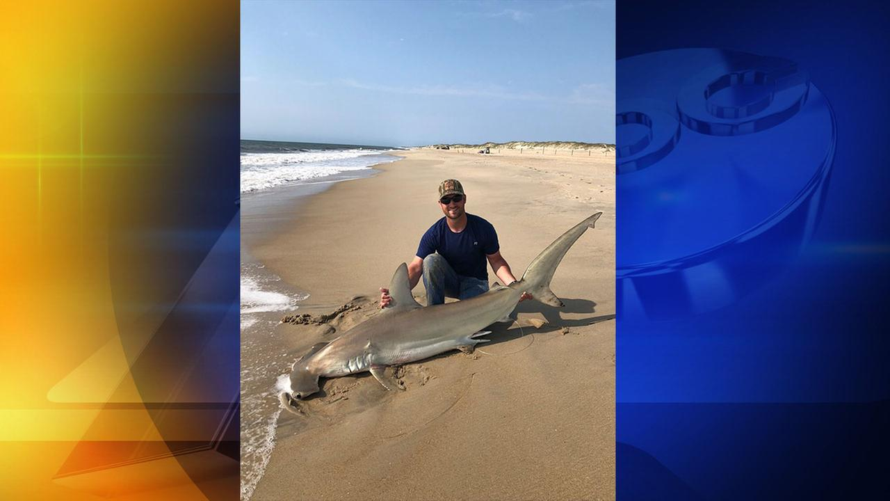 Ohio man pulls 6-foot shark from Outer Banks