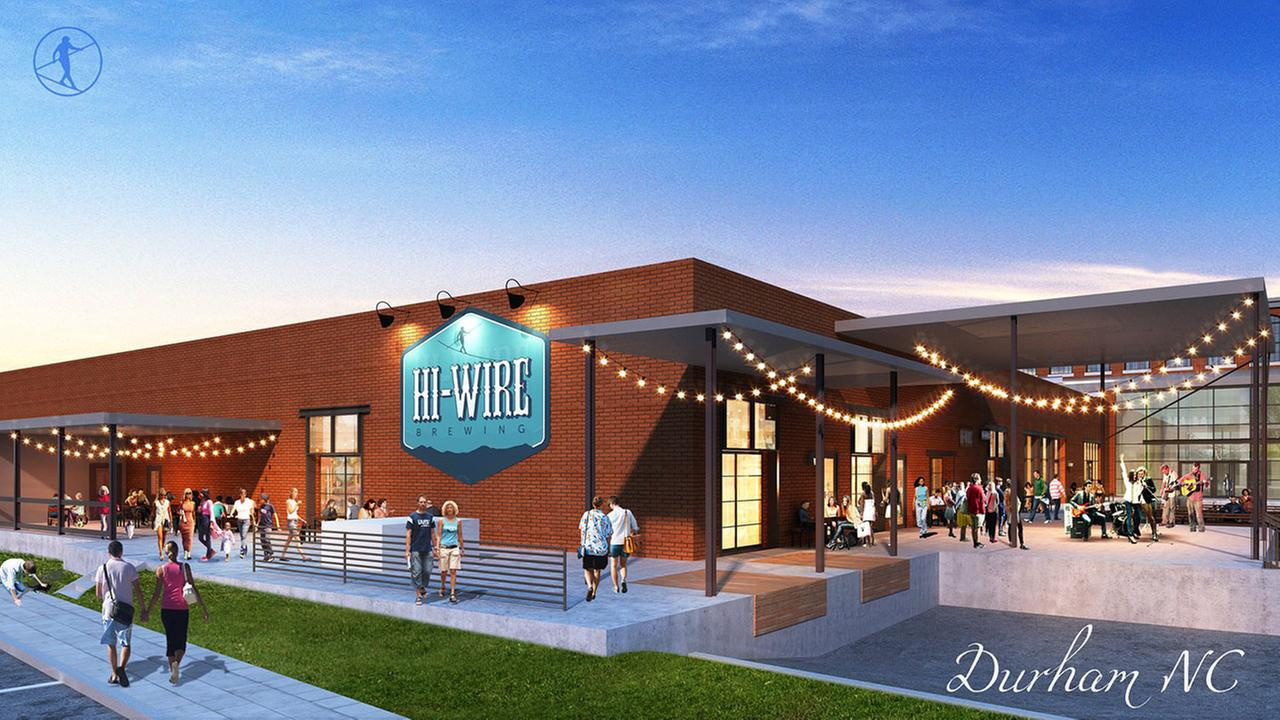 Asheville's Hi-Wire Brewing opening taproom in Durham