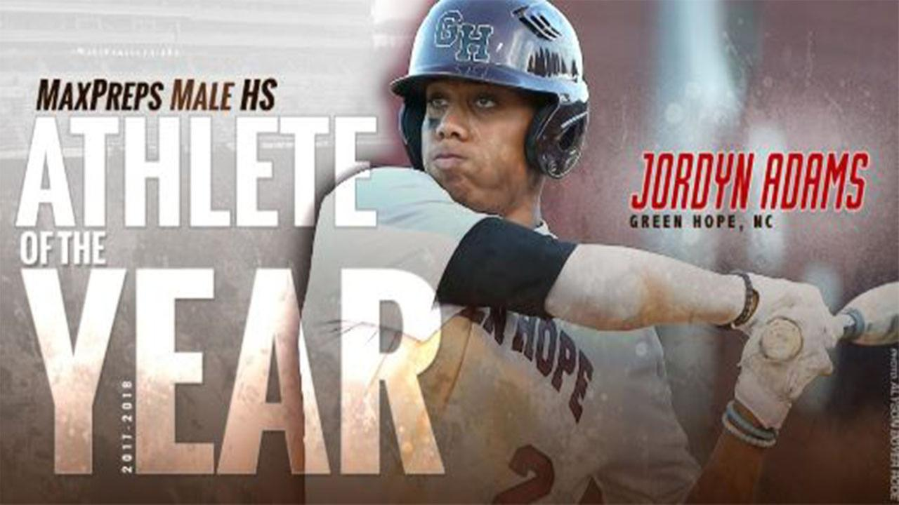Jordyn Adams named MaxPreps male high school Athlete of the Year