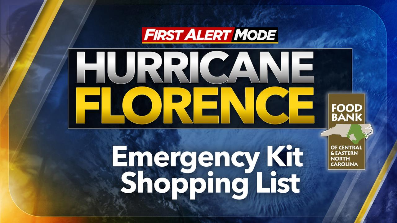 Food Bank offers tips on preparing emergency supply grocery lists