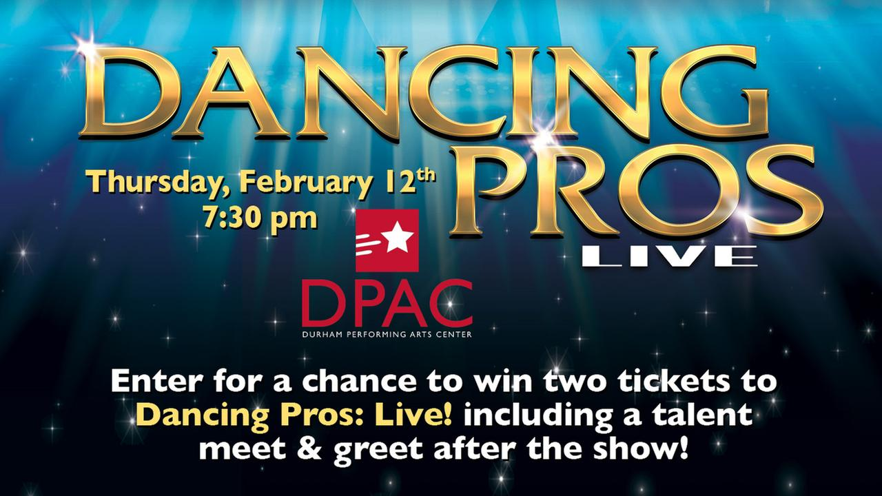 Dancing Pros: Live! Sweepstakes