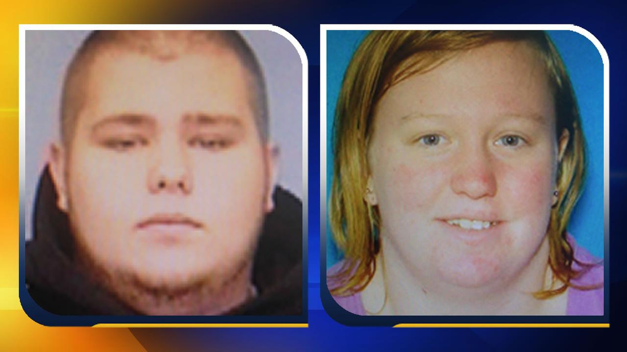 Tyler Mark Pierce and Samantha Lynn Shilts (images courtesy Hoke County Sheriffs Office)