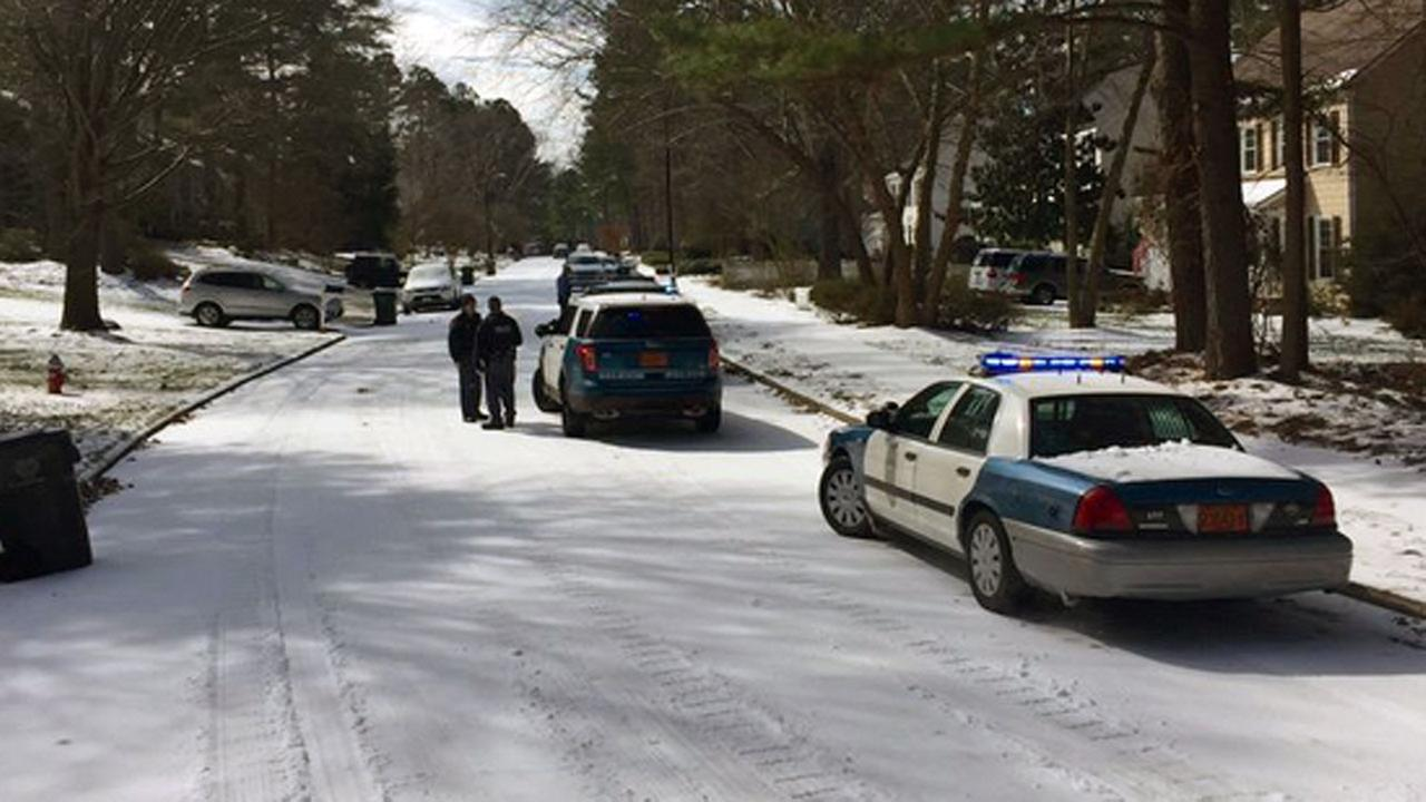 Boy collides with SUV while sledding
