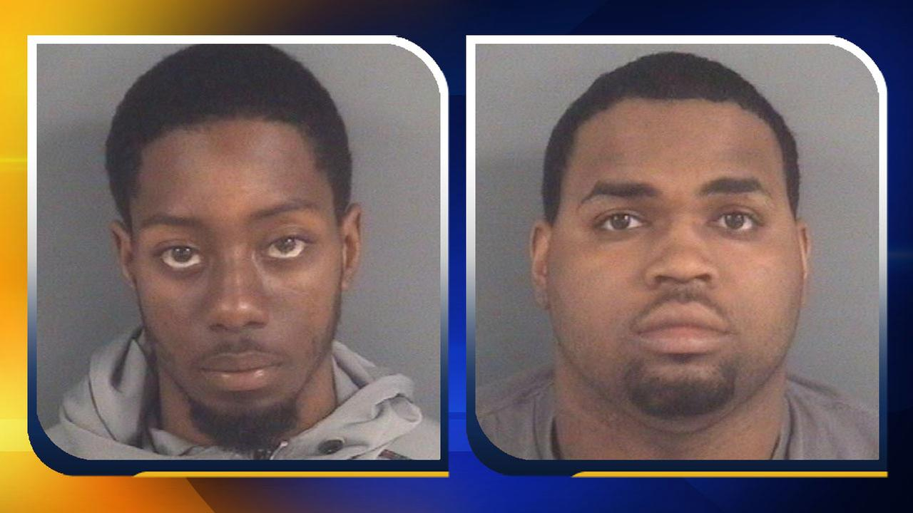 Lucas Laroque and Shaquille Bratcher, Photos Courtesy of the Fayetteville Police Department