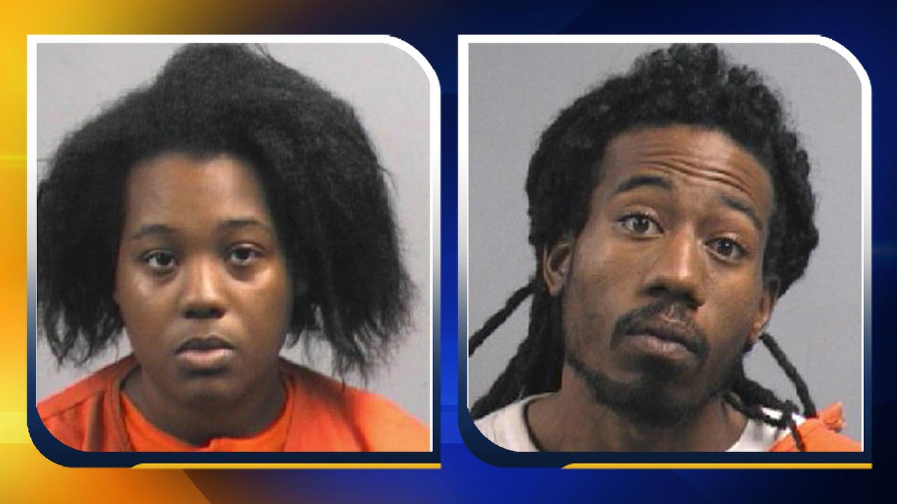 Lea Smith (left) and her husband Antuan Smith (right) are charged with first degree murder