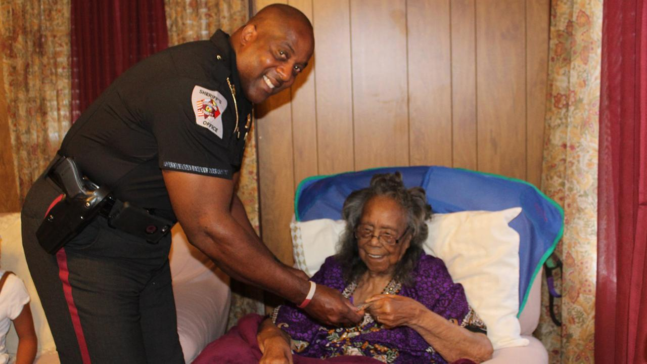Stedman woman awarded certificate for 104 years of outstanding citizenship (Cumberland County Sheriffs Office)