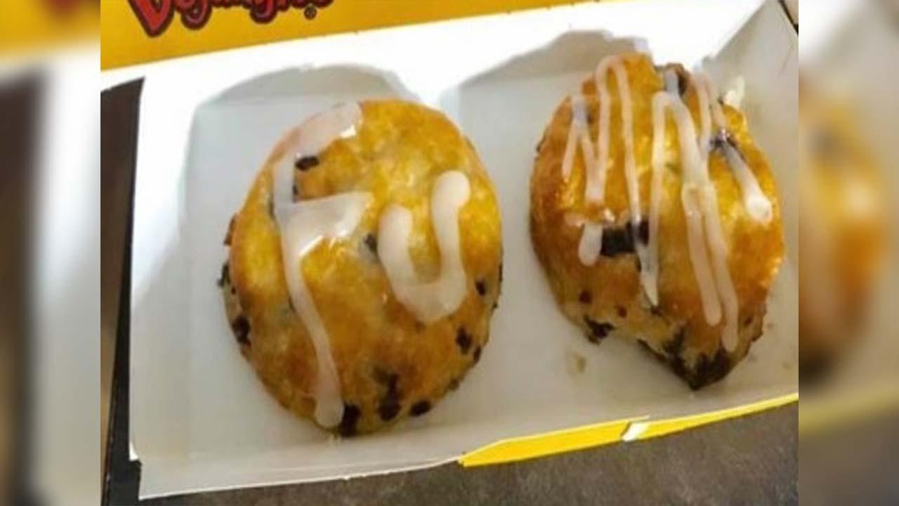 Sheriff's deputy shocked by vulgar message on Bojangles' Bo-Berry Biscuit