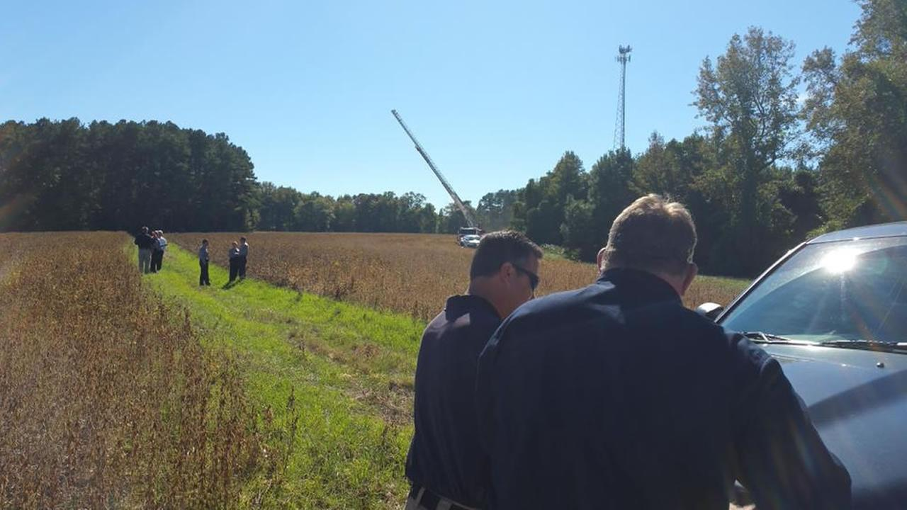 A mans body was found Tuesday in the 5800 block of US 401 North