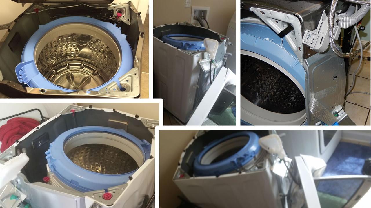 Samsung Recalls Washing Machines That May Explode Abc13 Com