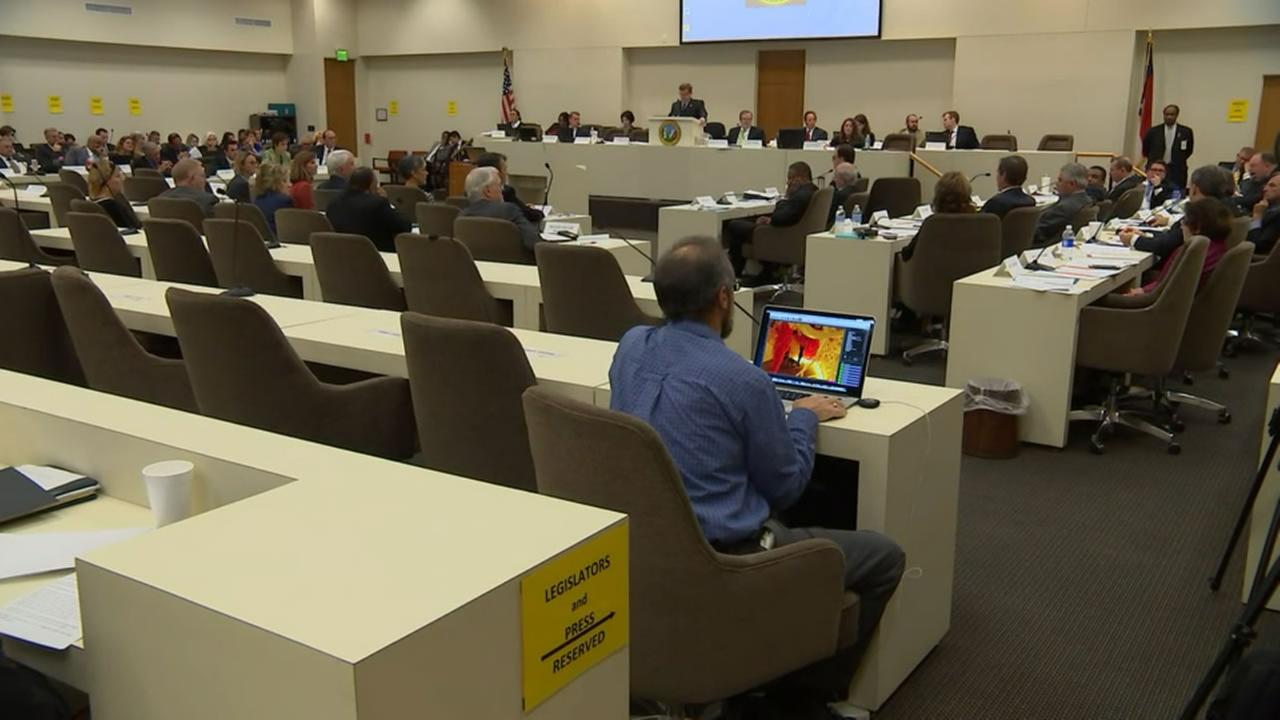 Joint Legislative Commission on Governmental Operations hearing.