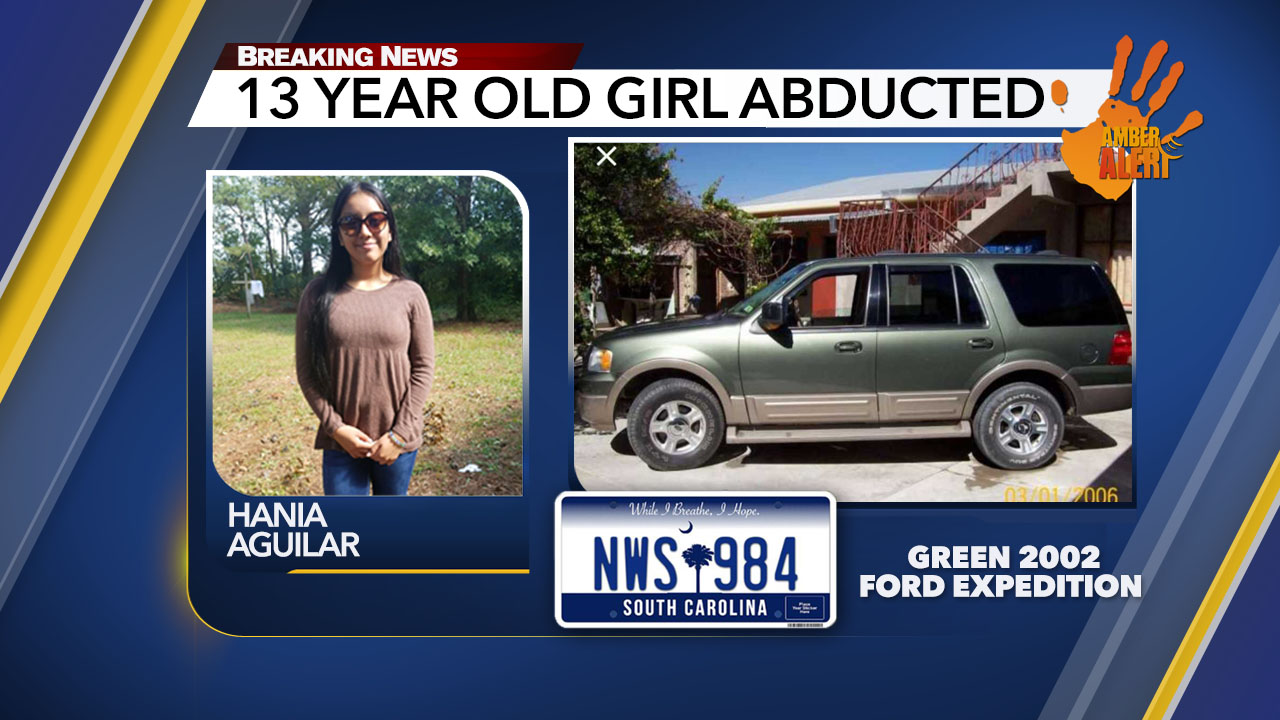 Amber Alert: 13-year-old abducted from outside family's Lumberton home Monday morning