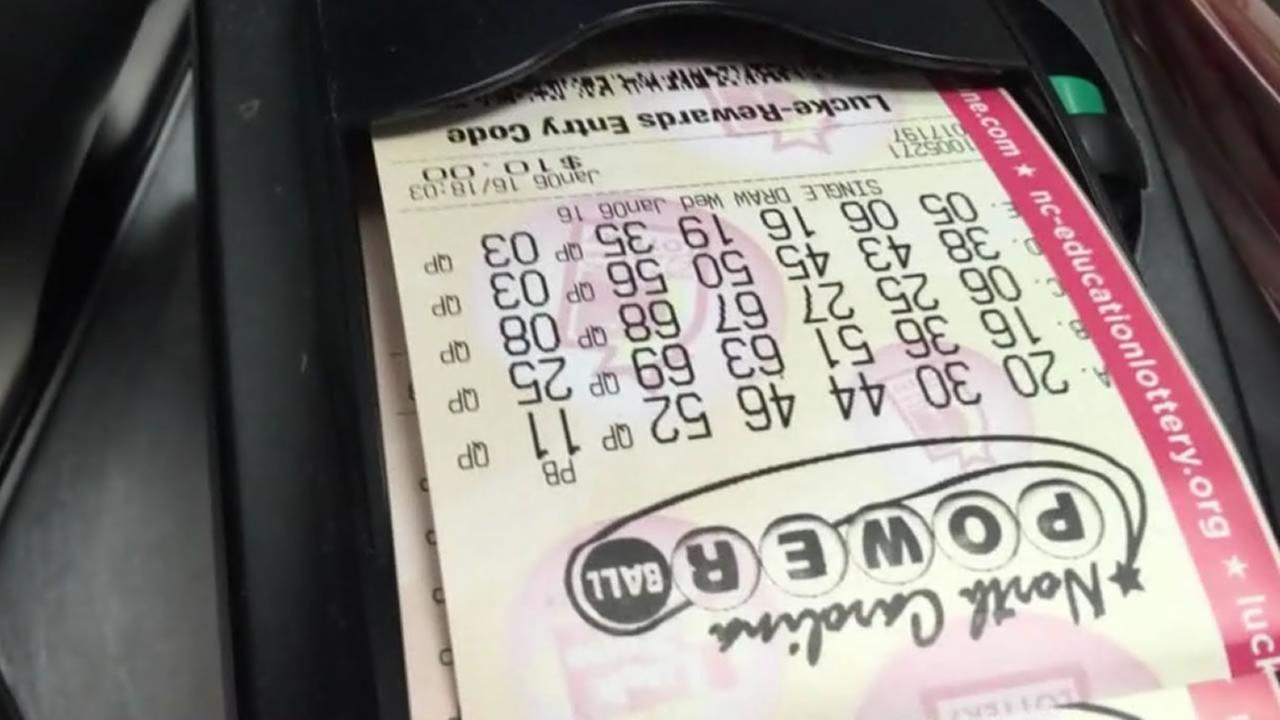 North Carolina Powerball tickets print