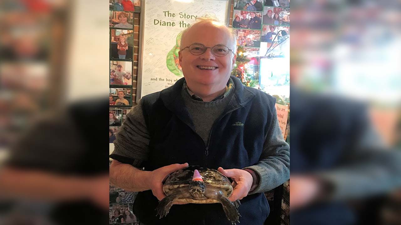 Diane the Turtle celebrates her 50th birthday