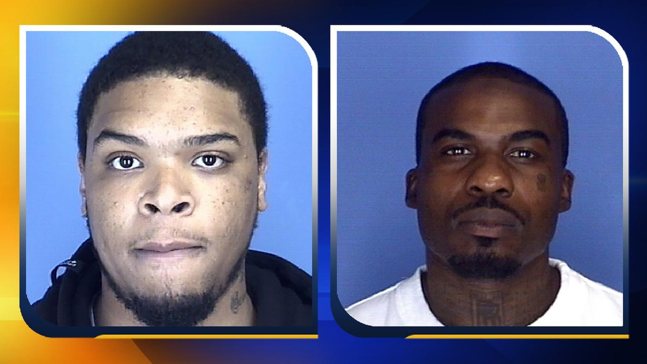 Tyrell Lee Yancey, left, and Raphael Tomar Carter.