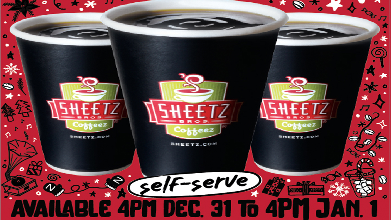 Sheetz to give away free coffee to celebrate the new year