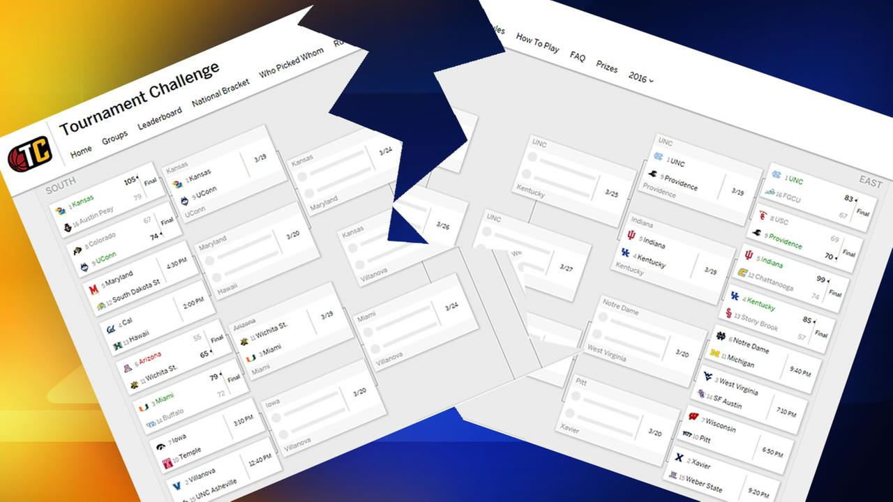 Is your March Madness bracket broken? Join the crowd