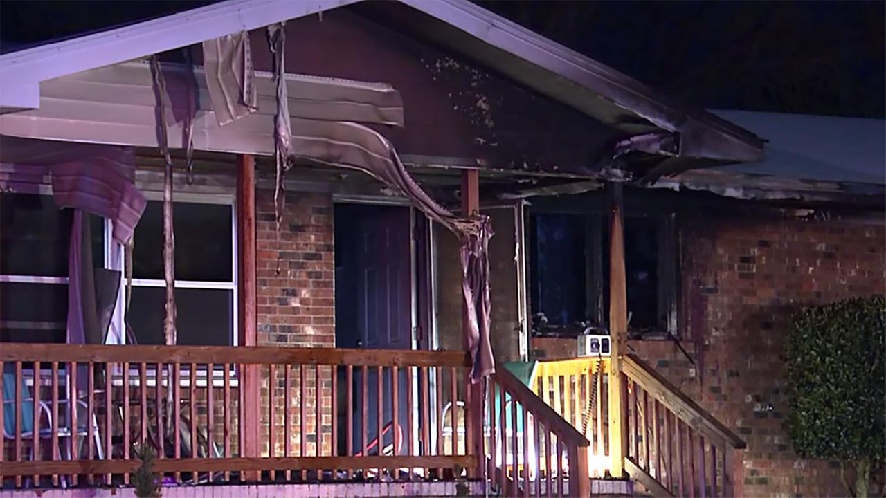 Six people and two dogs managed to escape a Fayetteville house fire on Friday night, but a third pet, a Chihuahua, was not so fortunate.