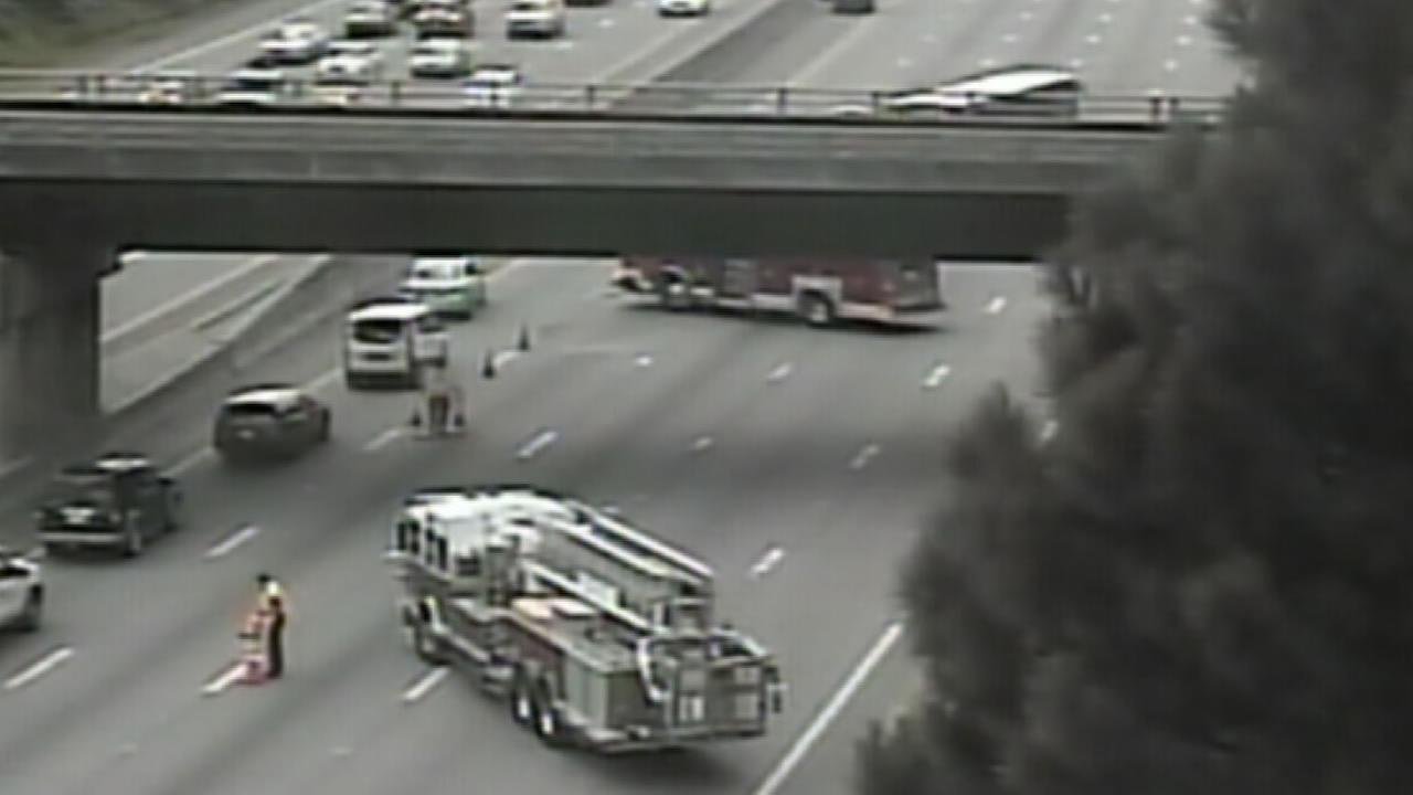 All lanes reopen on I-40 westbound near exit 281, S. Miami Blvd. in Durham