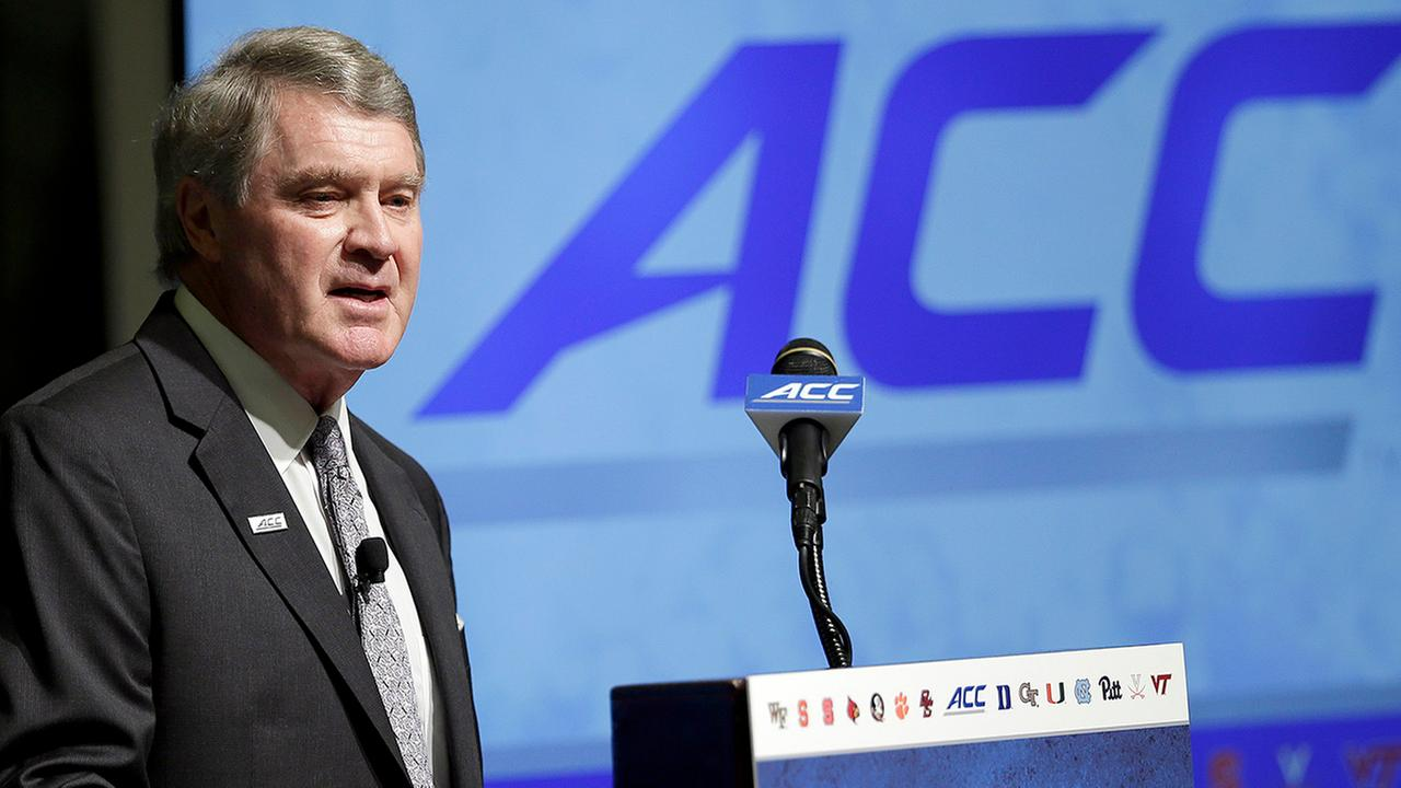 Atlantic Coast Conference Commissioner John Swofford.