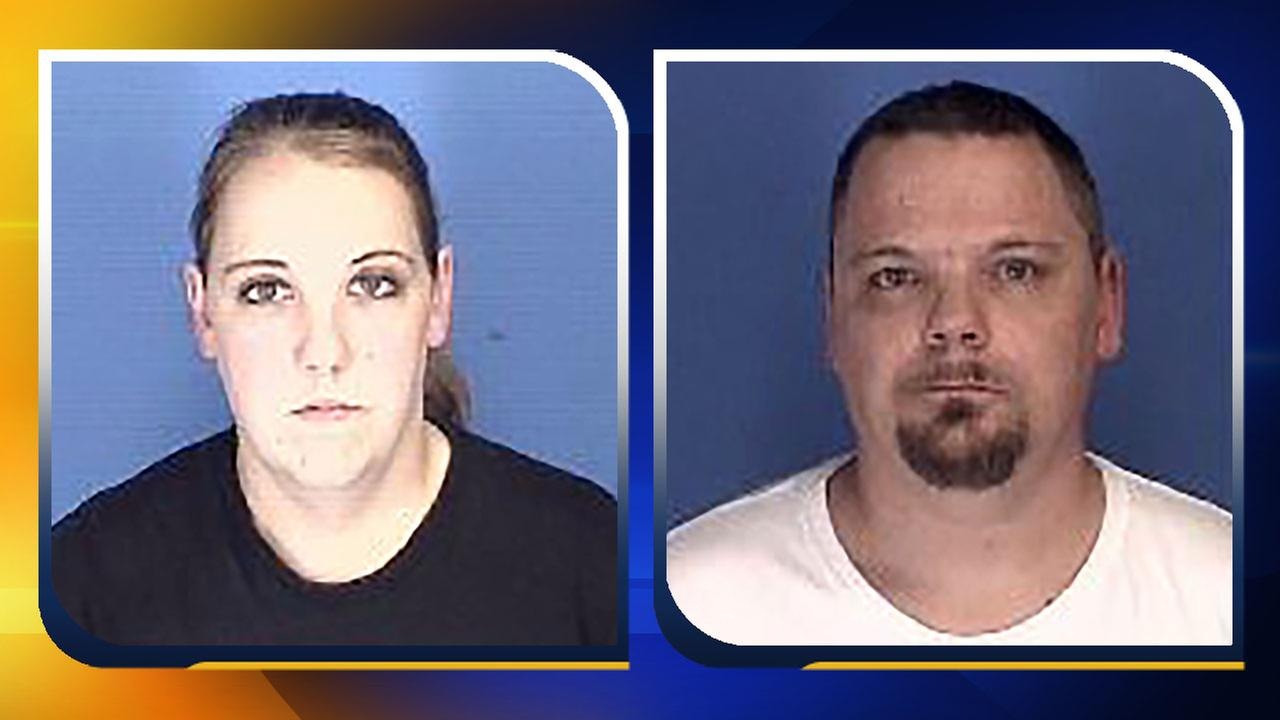 Heather Rowland, left, and Eric Chambers