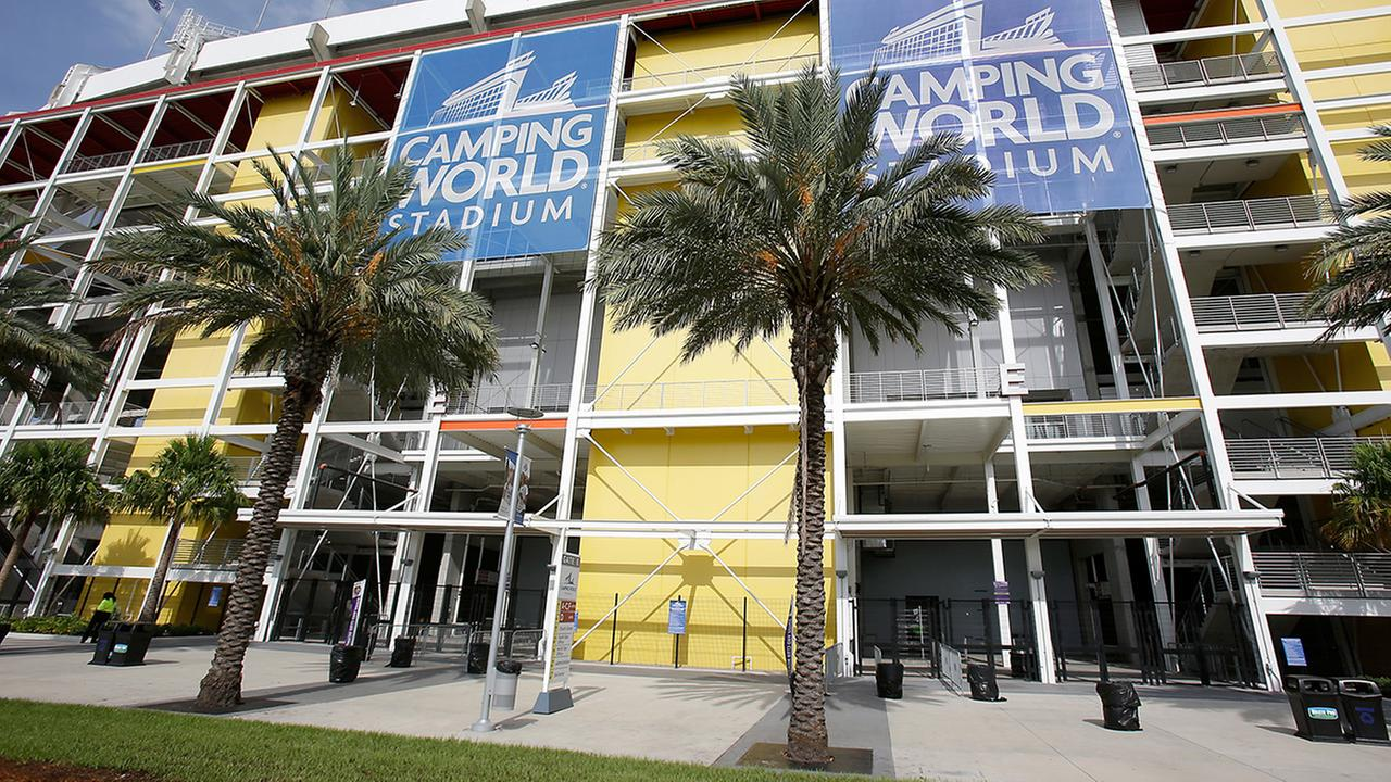 Camping World Stadium in Orlando, Fla., will now host the ACC title game.