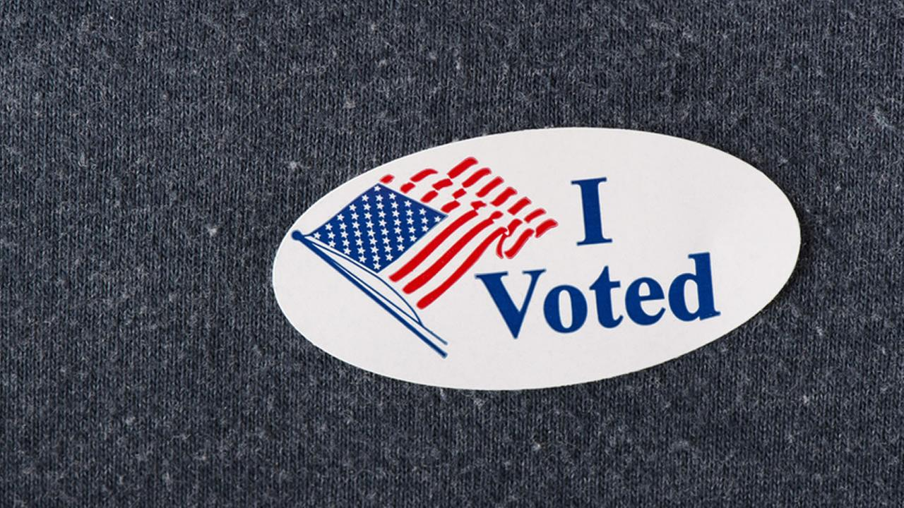 I voted sticker