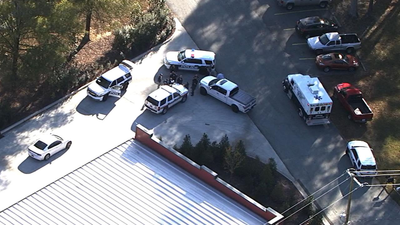 Durham police investigate a reported meth lab explosion.