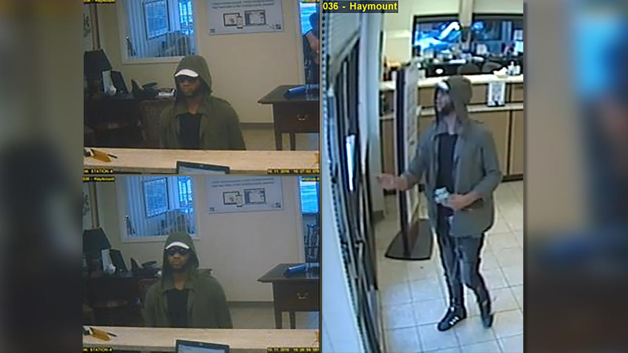 Images of the suspect.
