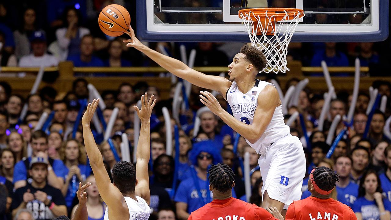 Chase Jeter and the Blue Devils cruised past Marist.