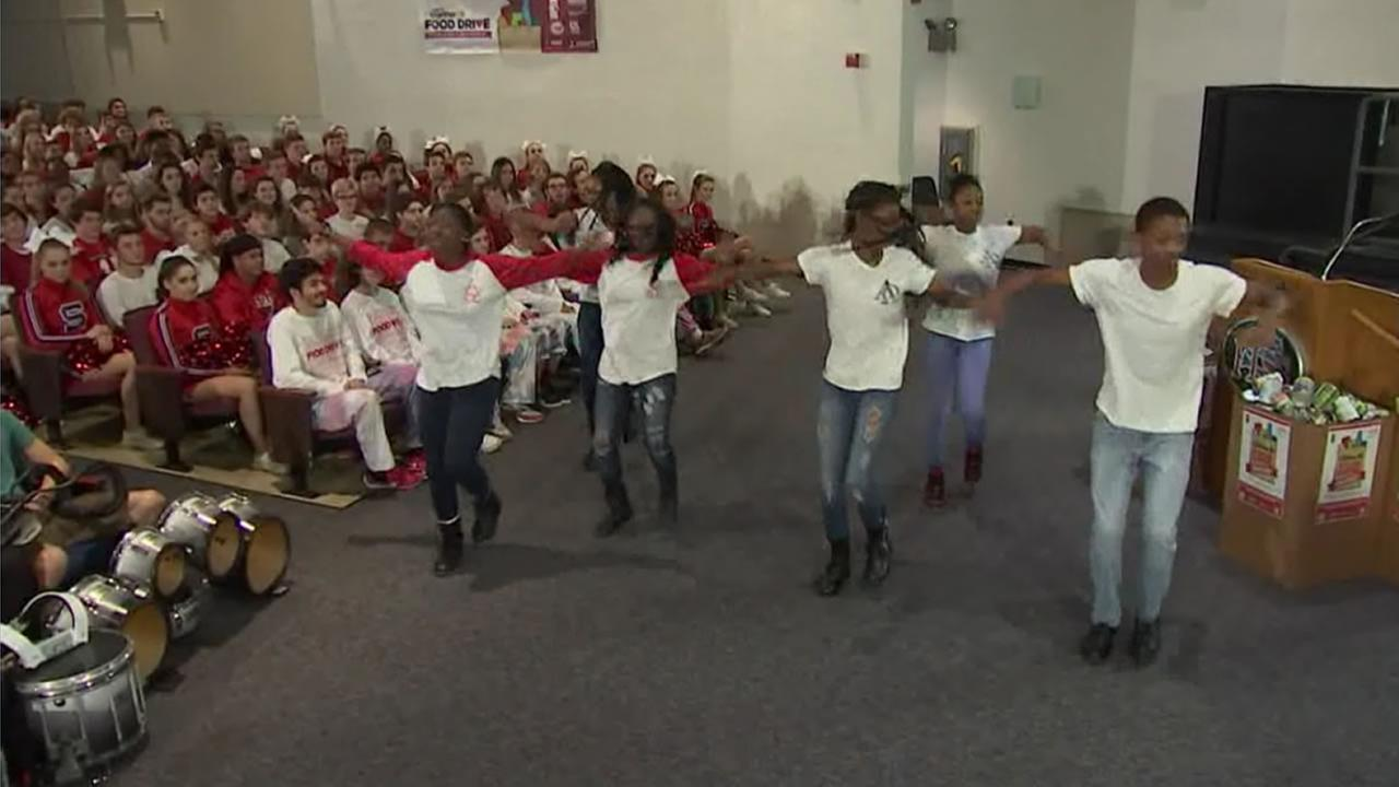 Raleigh high school takes food drive to the next level