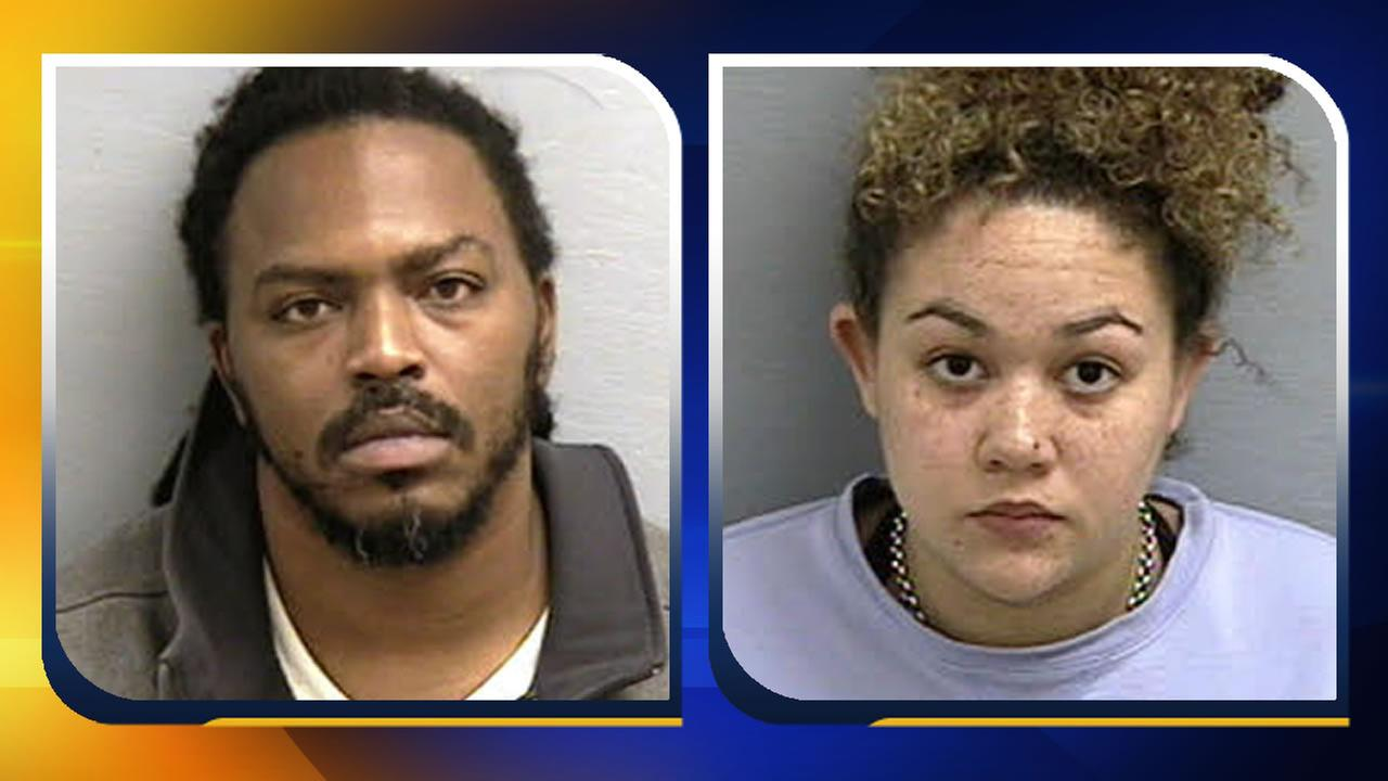 Zacharus Jovon Foxx and Deanna Nakol Seeley (images courtesy Lee County Sheriffs Office)