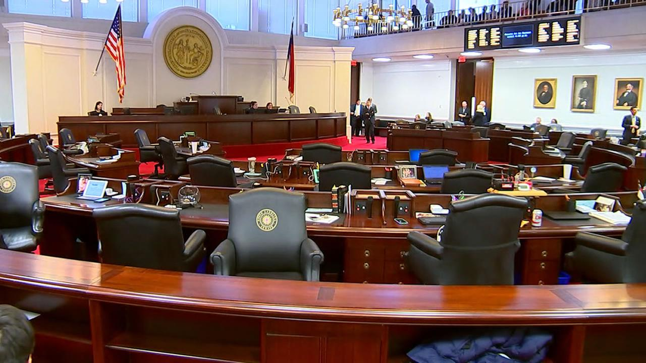 North Carolina Senate chamber