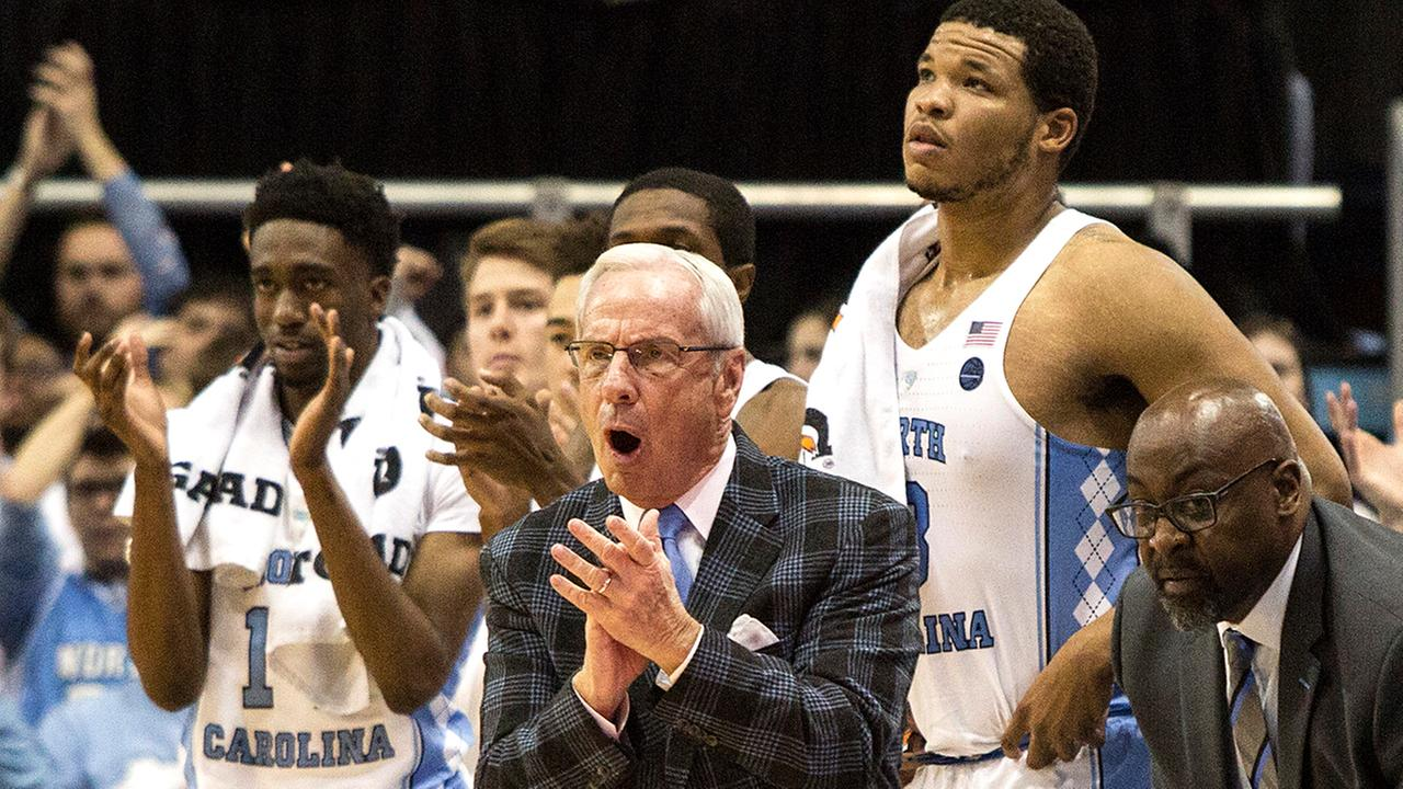 UNC head coach Roy Williams picked up his 800th career win Monday night.