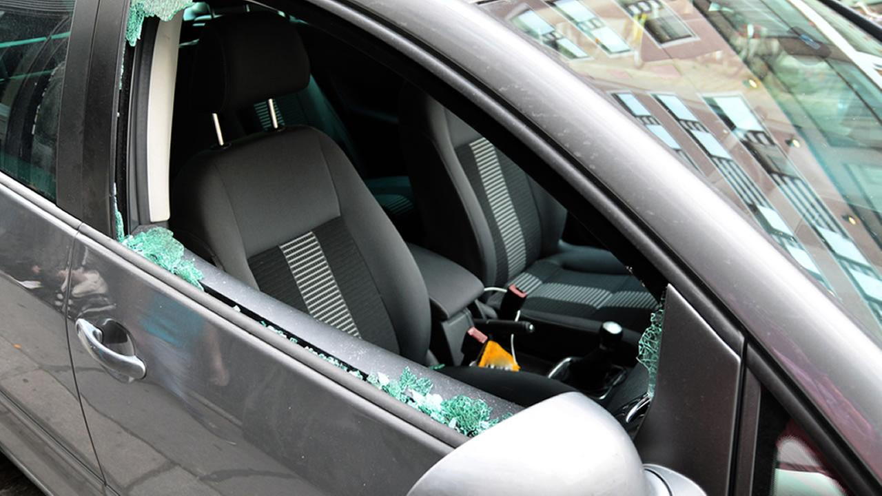 Thieves break windows to steal valuables