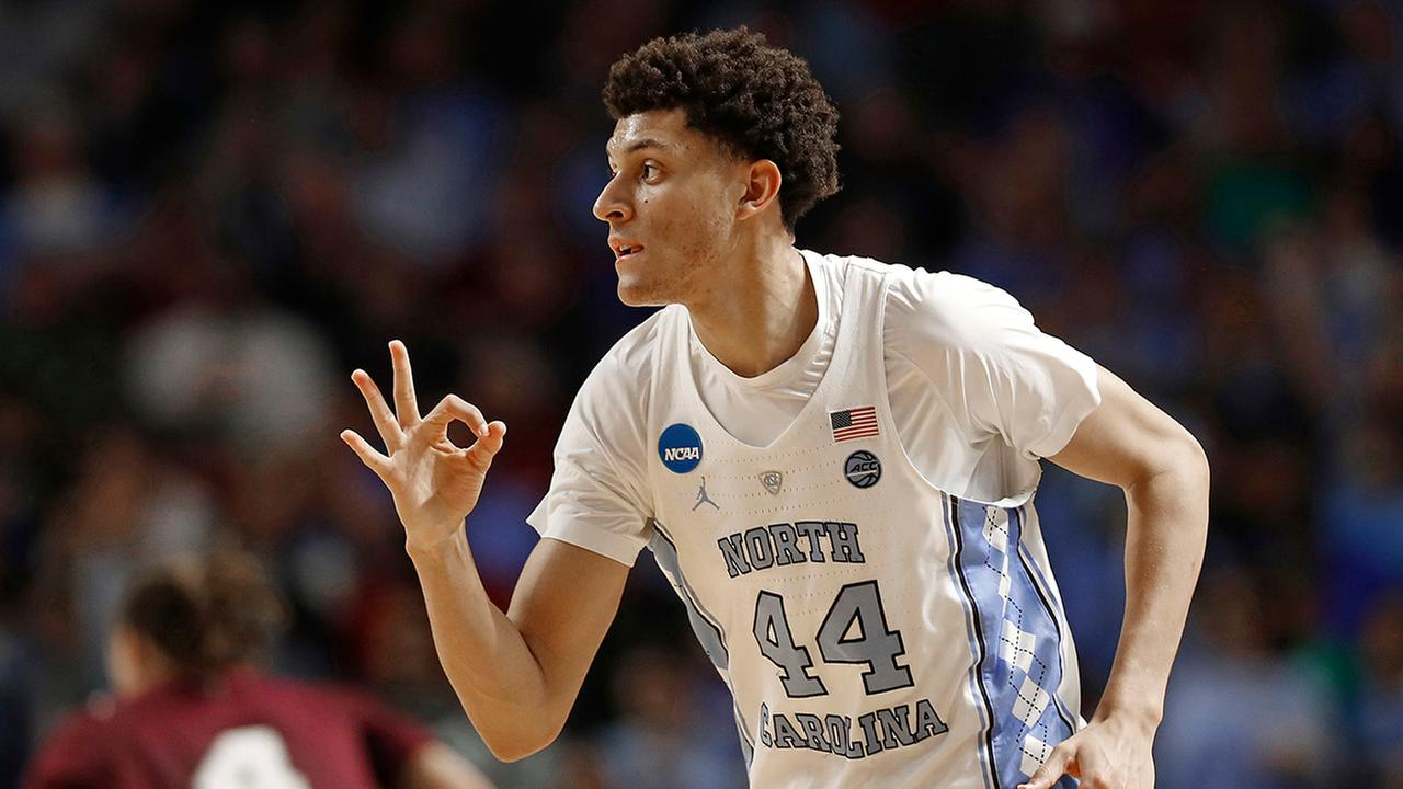 North Carolinas Justin Jackson had 21 points against Texas Southern on Friday.