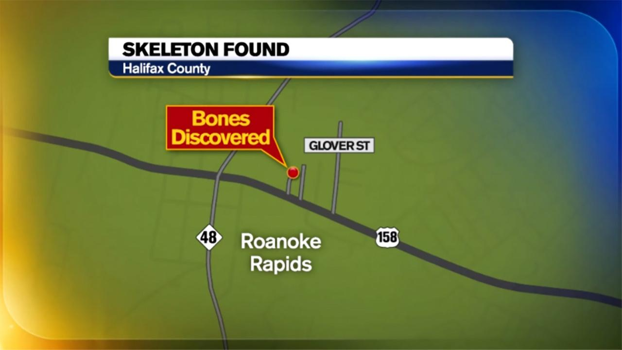 Human remains found in Roanoke Rapids identified